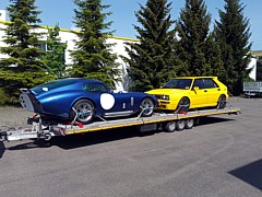Superperformance Cobra Coupe und Lancia Delta