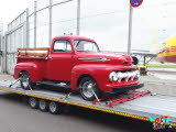 Ford F2 Pickup Modified 1952 Fahrzeugtransporte Oldtimertransporte Bootstransporte