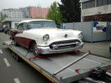 Oldsmobile 88 Holiday Coupe Fahrzeugtransporte Oldtimertransporte Bootstransporte
